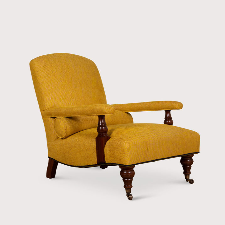 Edwardian Chair (unbuttoned)