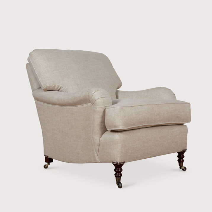 Standard Arm Signature Chair with Cushion Back
