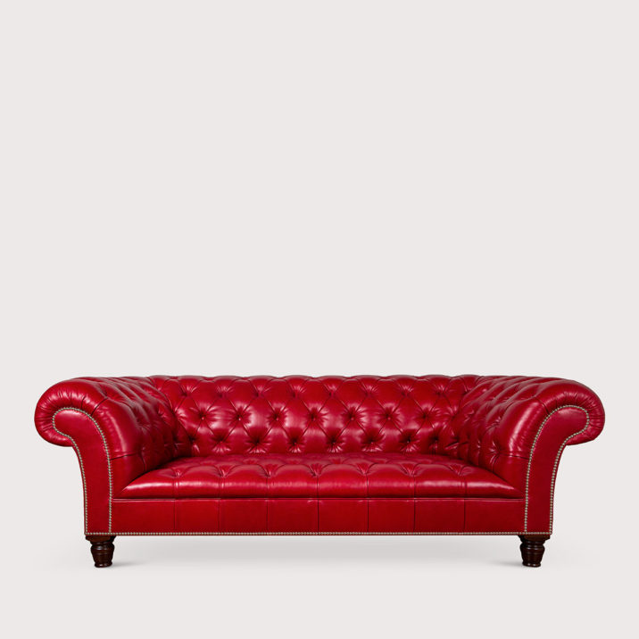 Early Victorian Chesterfield Sofa
