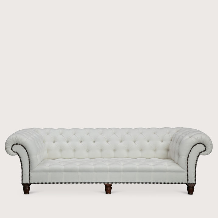 96″ Early Victorian Chesterfield Sofa