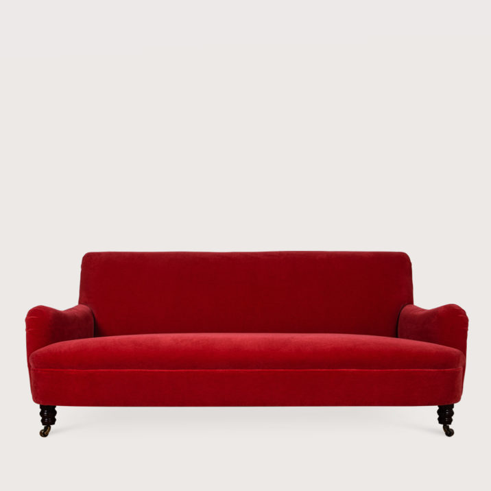 72″ Jules Sofa with fixed seat