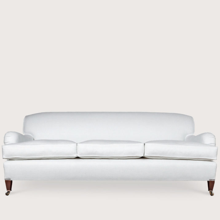 84″ Medium Straight Top Whole Back Sofa (L)