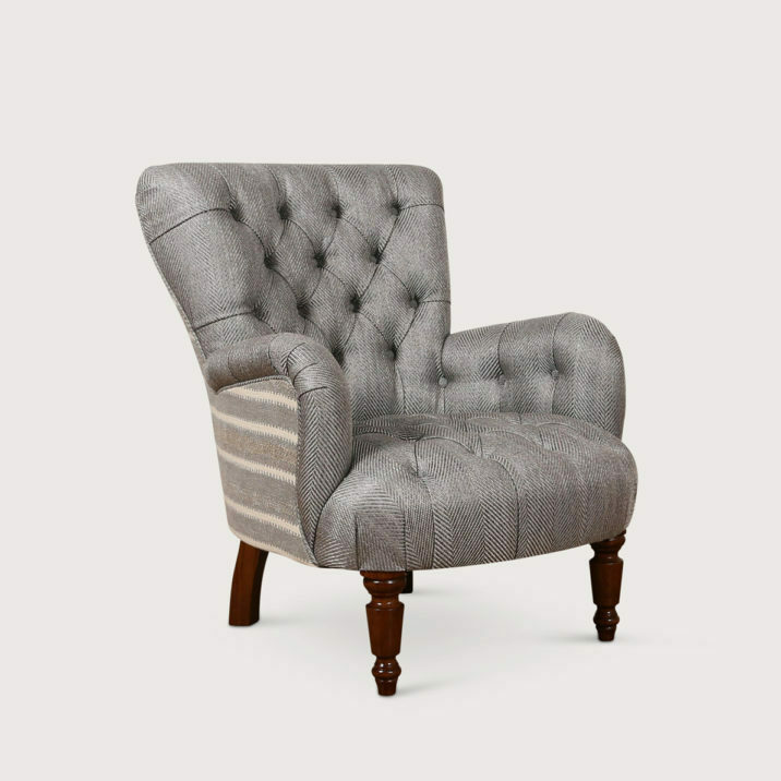 Bedroom Chair (buttoned)