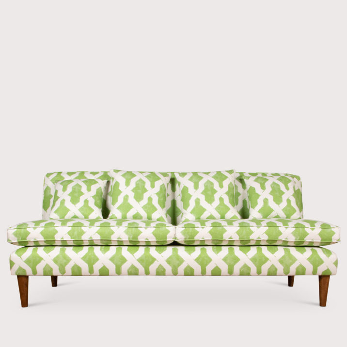 Brompton Sofa Armless with fixed back