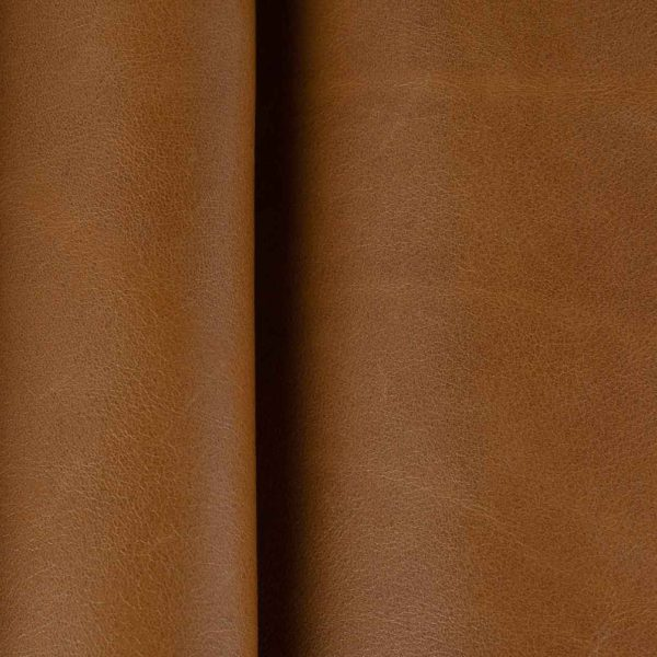 Orangy Brown Leather