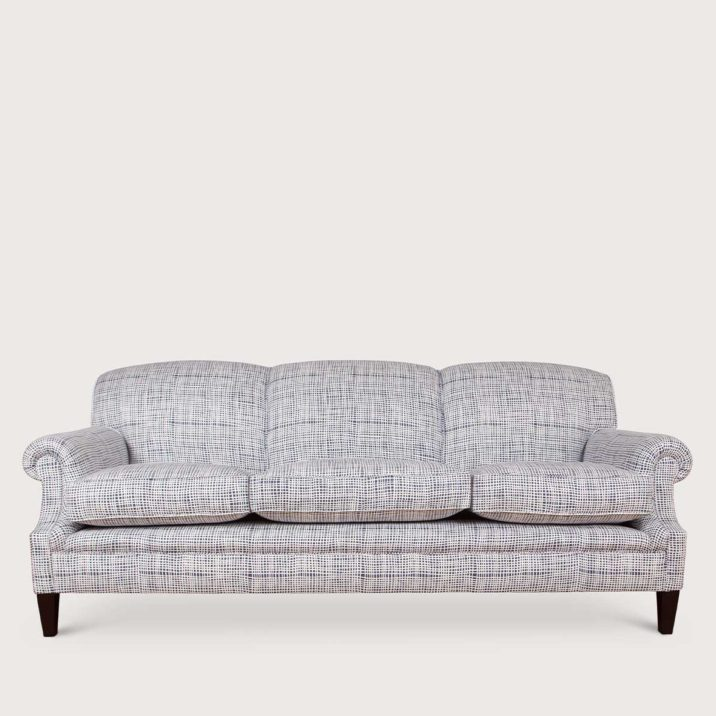 Signature Sofa Laid Back Scroll Arm