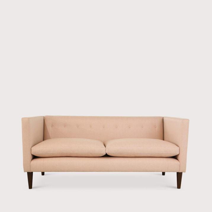 Brompton Sofa Tuxedo Arm with fixed back
