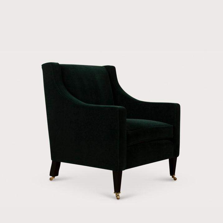 Georgian Chair with Seat Cushion
