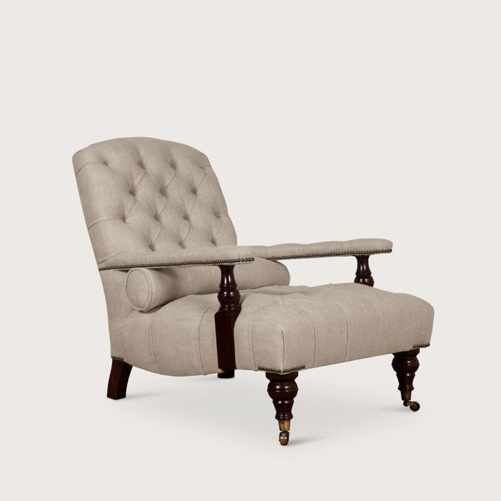 Edwardian Chair (buttoned)