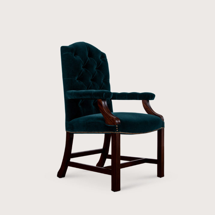 Gainsborough Carver Chair (buttoned)