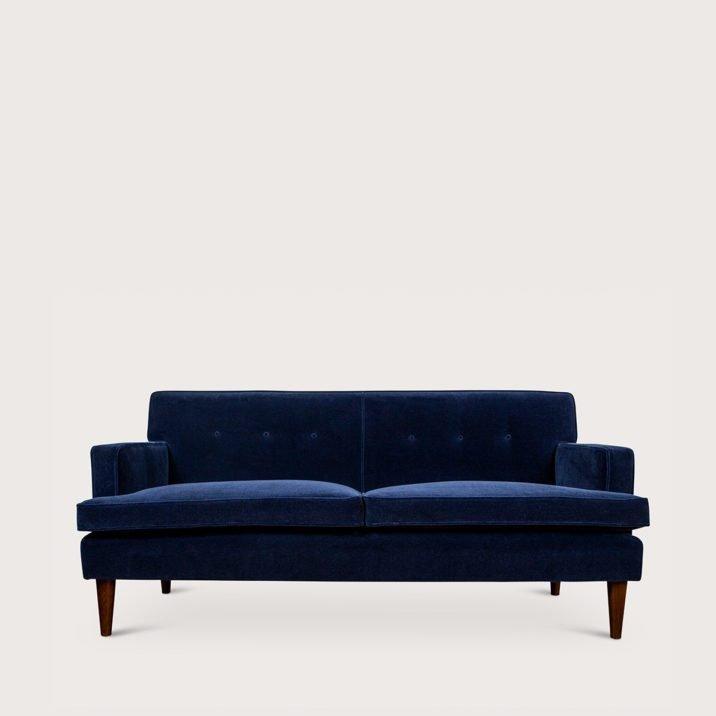 Medium Brompton Sofa Short Arm Fixed Back