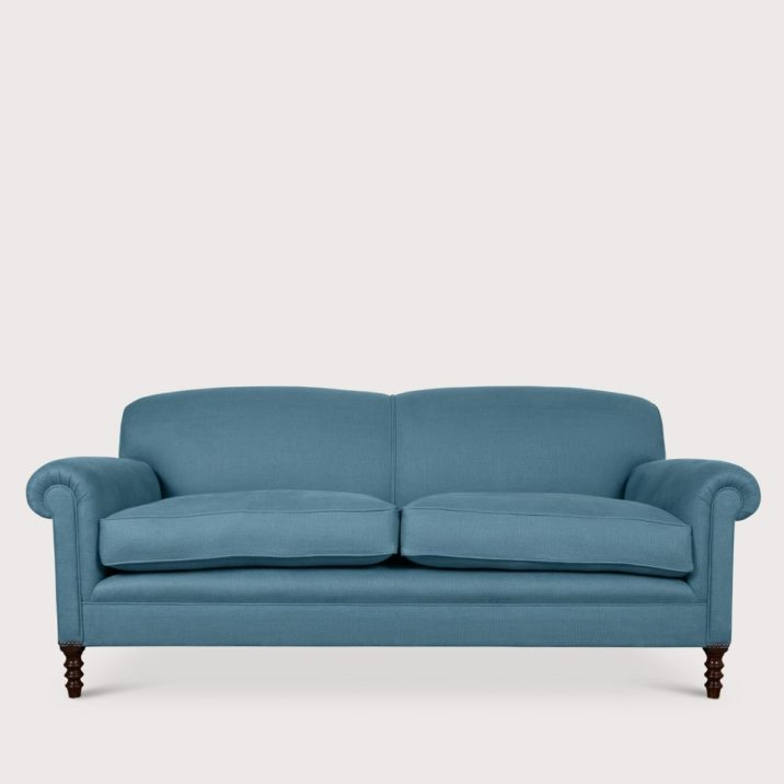 Medium Signature Sofa Full Scroll Arm