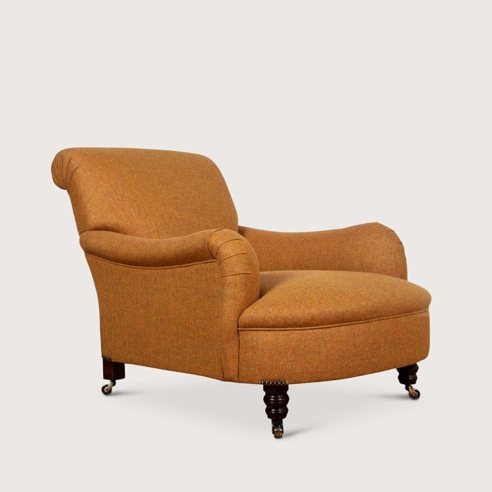 Jules Chair with fixed seat