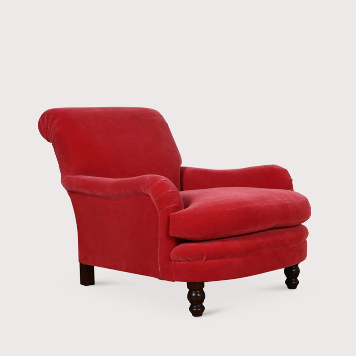 Jules Chair with seat cushion