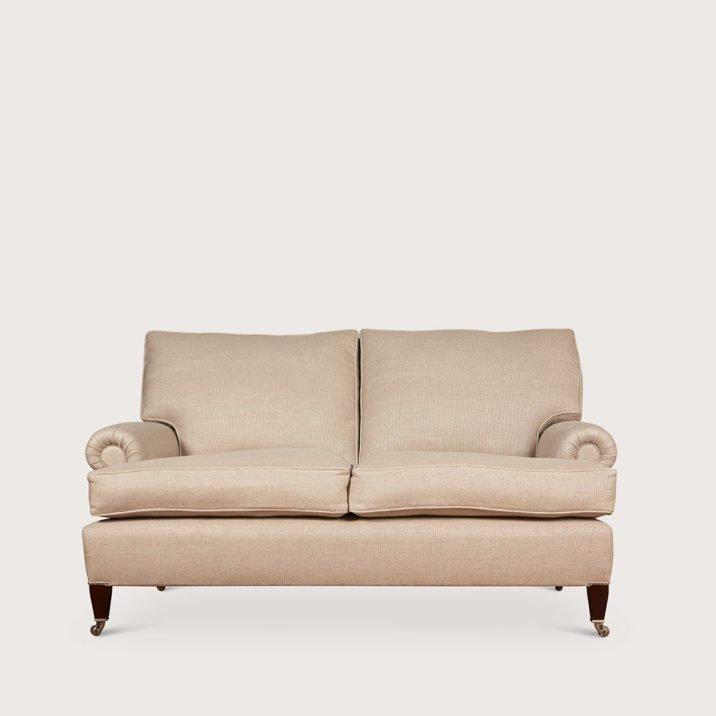 Large Signature Sofa Short Scroll Arm cushion back