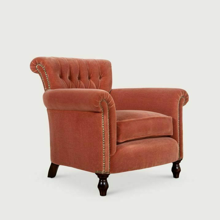Buttoned Library Chair
